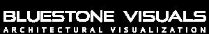 BLUESTONE VISUALS | Architectural Visualization Logo